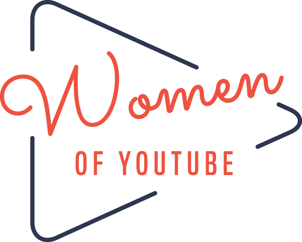 Women of YouTube podcast logo